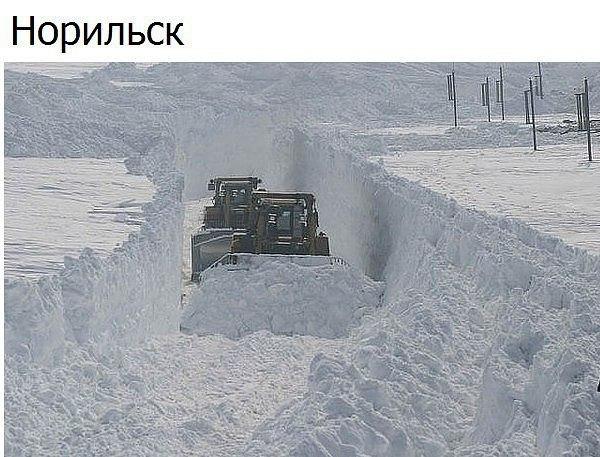 Зима. Норильск