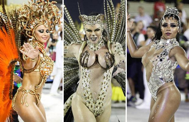 В Рио-де-Жанейро празднуют карнавал-2018