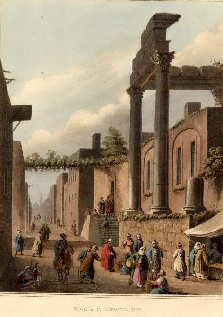 Древние загадочные сооружения в Сирии на рисунках XVIII века