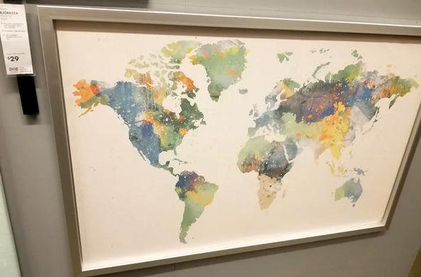 ИКЕА потеряла на карте целую страну
