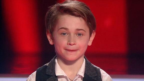 На шоу «Голос.Дети» с песней «Офицеры» победил Рутгер Гарехт