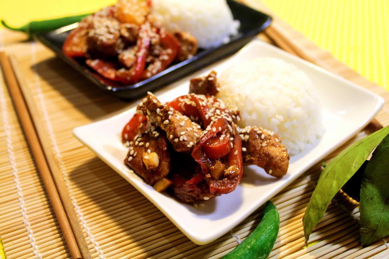 Свинина по азиатски рецепт