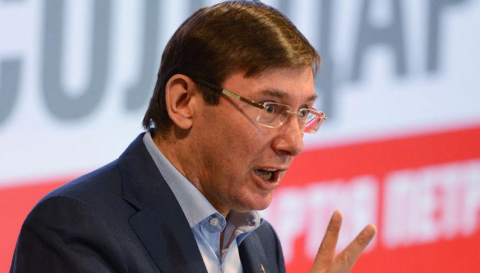 Необходимо за время военного положения ввести санкции против России — Луценко
