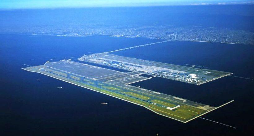 Кансай — удивительный японский аэропорт на искусственном острове