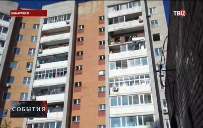 В жилом доме в Хабаровске произошел взрыв газа