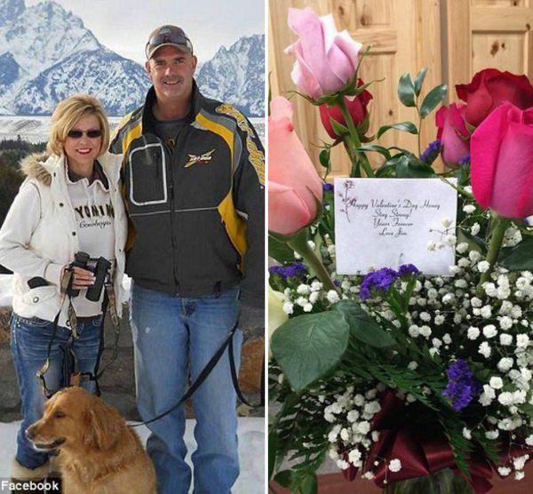 Муж этой женщины умер, но она каждый год получает букетик цветов от его имени
