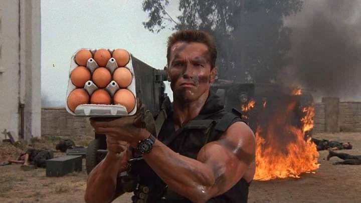 Народ лишают яиц, 9 по цене …