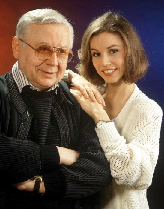 Марина Зудина и Олег Табаков. / Фото: www.adfave.ru