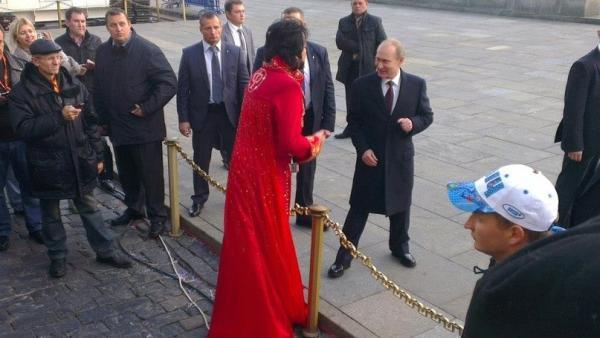 Киркоров и Путин