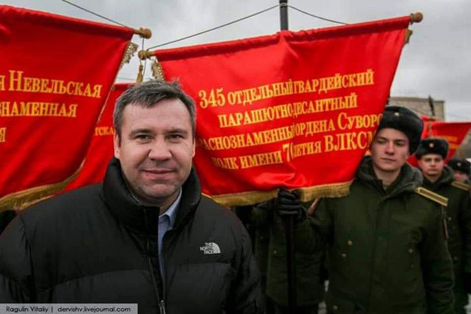 Старшина 9-й роты Андрей Куз…