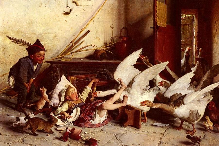 Детство 19 века