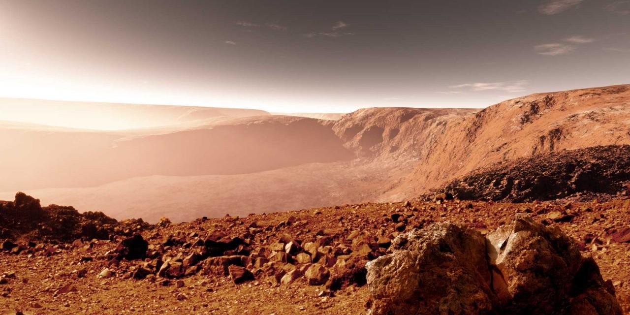 Предложен проект создания озера на Марсе