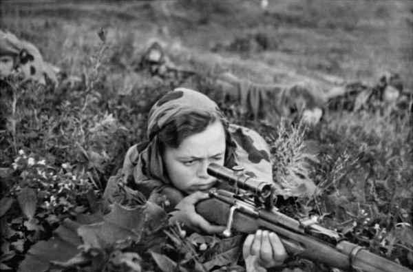 Чем советские снайпера во время Великой Отечественной шокировали немцев
