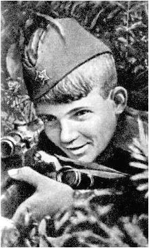 15-летний снайпер Василий Курка