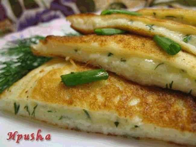 Оладьи в стиле «Хачапури». Без волокиты, приготовила такую вкуснятину!