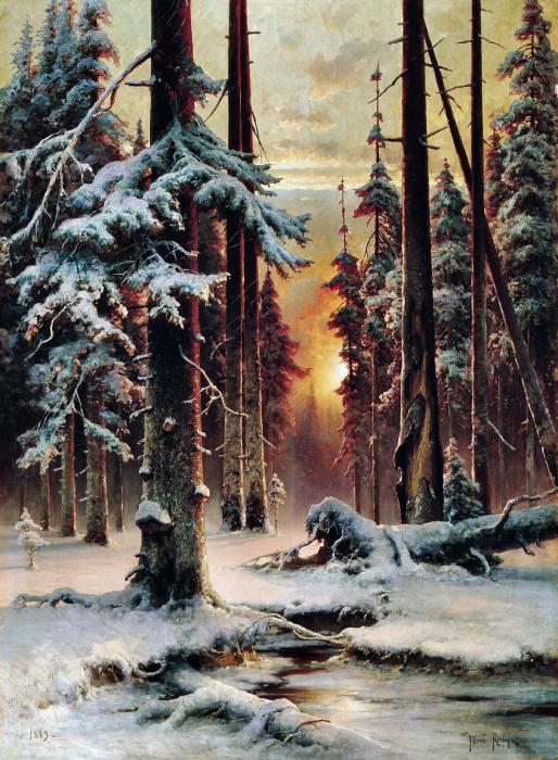 Русские художники - Клевер Юлий Юльевич. Избранные картины