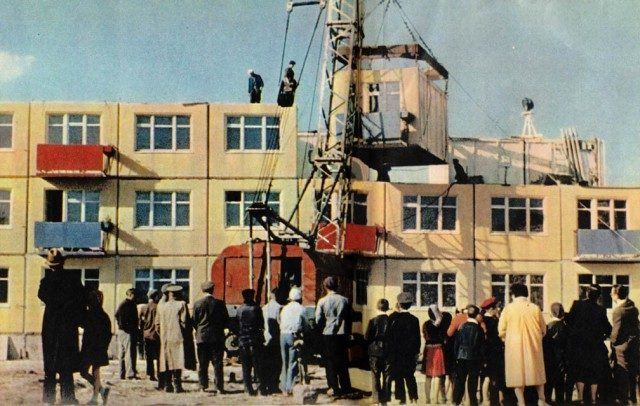 Строительство жилья в сравнении:  СССР — капстраны