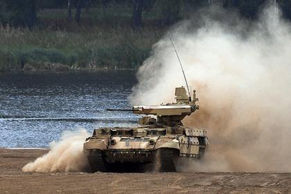 Названы сроки поставки в российские войска первых «Терминаторов»