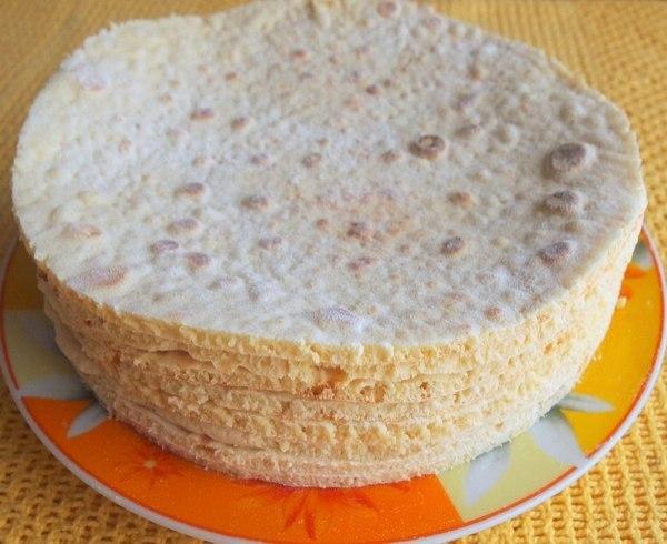 Быстрые и простые коржи для торта без духовки!