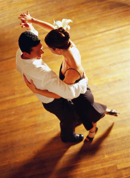 Бальные танцы для отношений