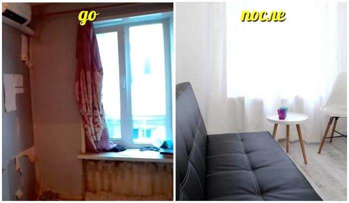 Как в Одессе квартиру площадью 13 кв.м. превратили в полноценное жилье