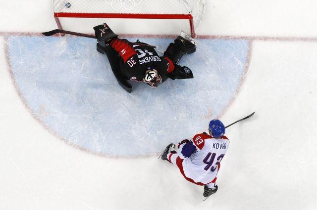 Сборная Канады по хоккею проиграла чехам в матче на ОИ-2018