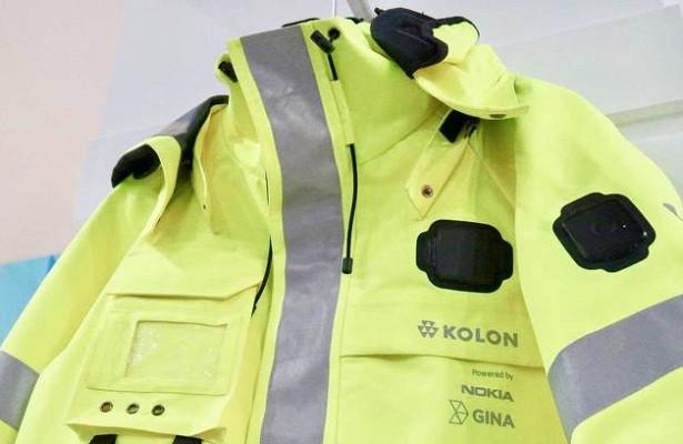Nokia представила модульную «умную» куртку