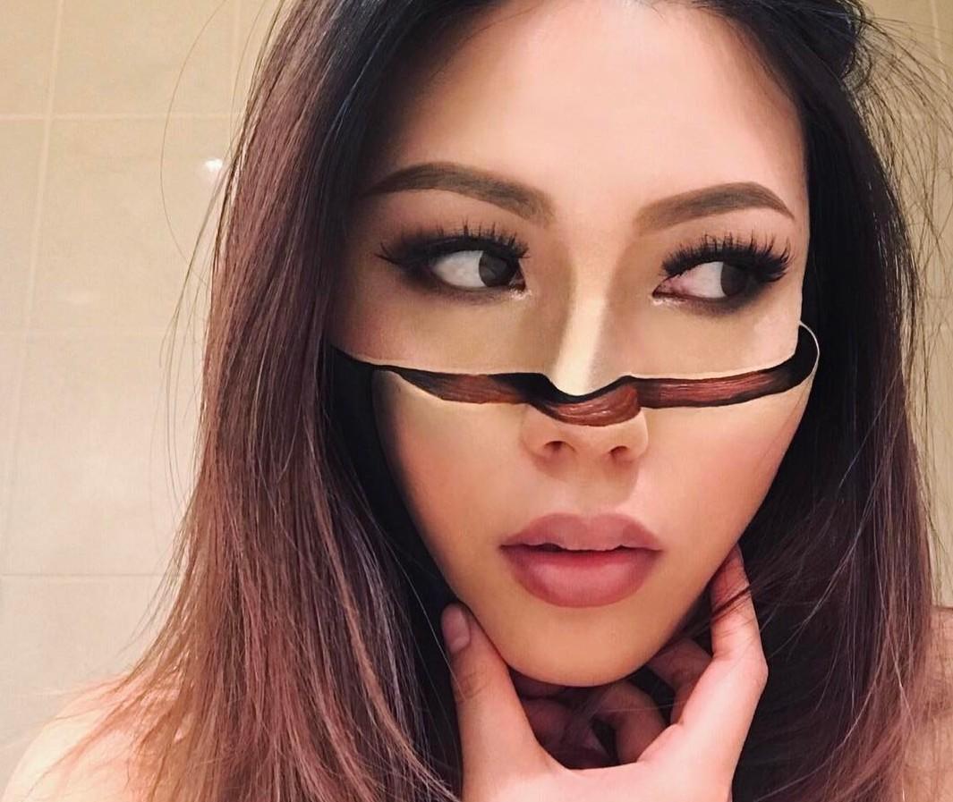 Современноре искусство на лицо: зрелищные иллюзии девушки-визажиста