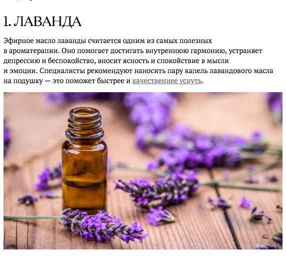 Запахи, которые взбодрят, успокоят и подарят радость