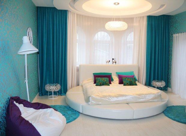 Дизайн узкой спальни (25 фото) варианты планировки
