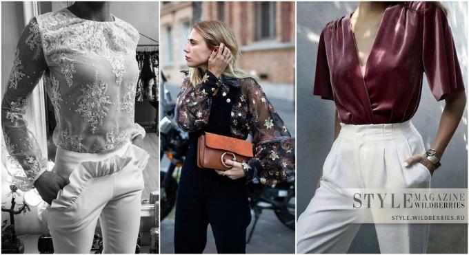 «В ритме праздника»: Выбираем нарядную блузку