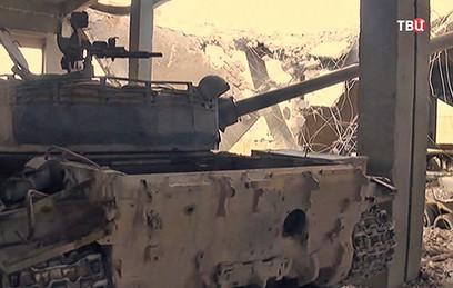 На складе ИГ нашли новейшее оружие НАТО