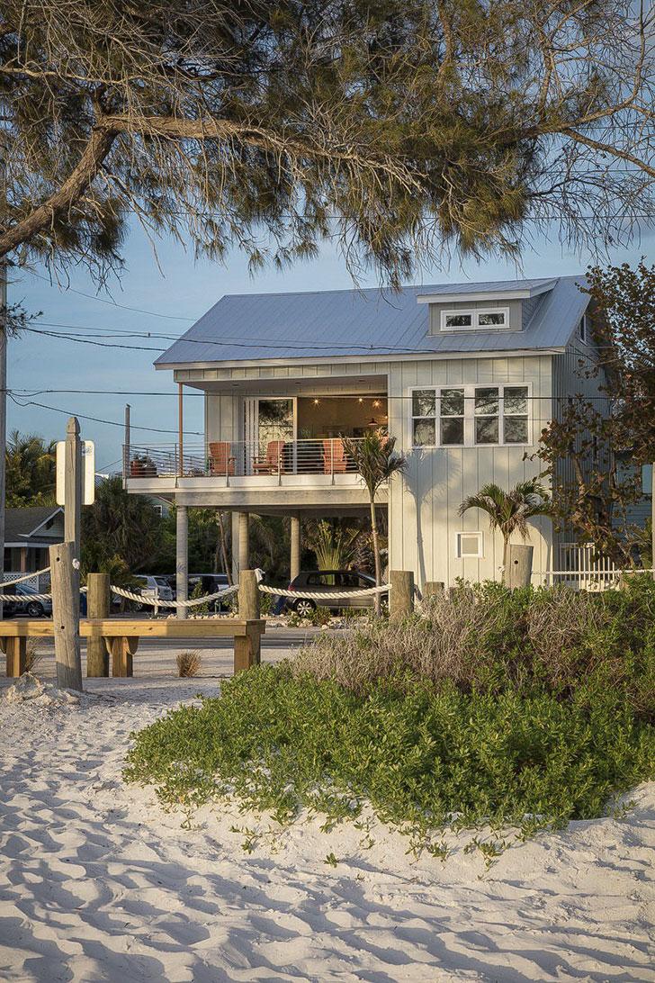 Яркий пляжный домик во Флориде