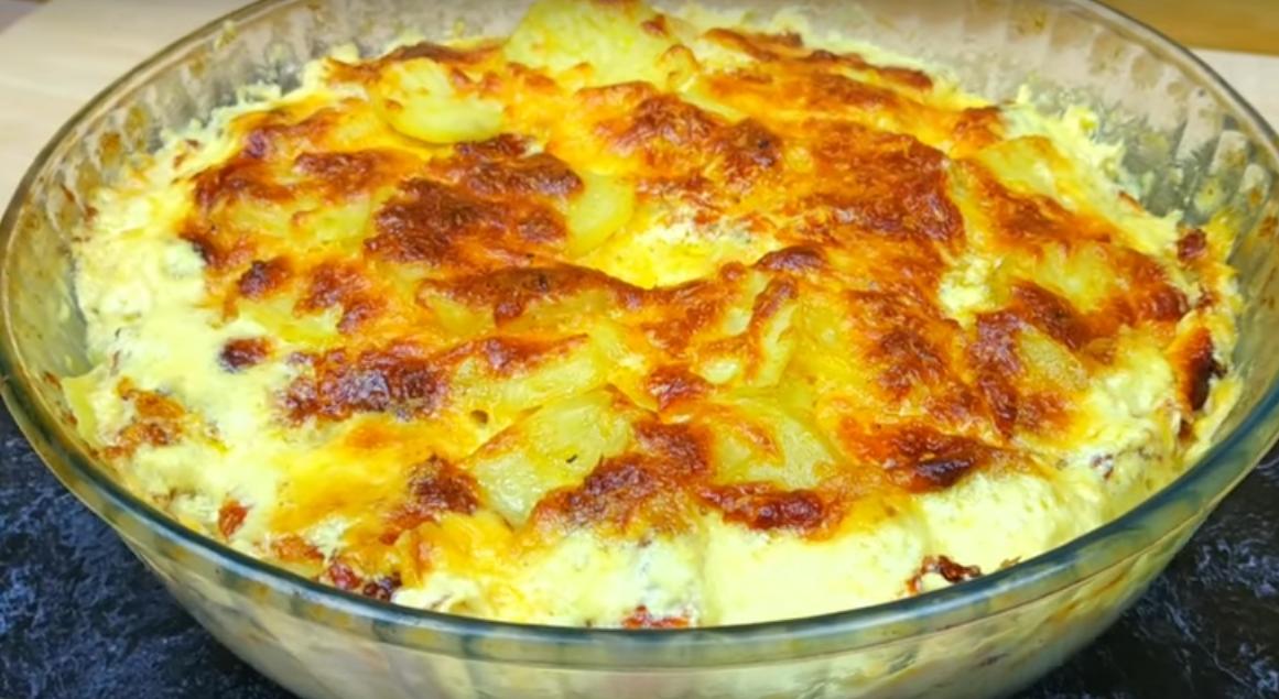 Потрясающее блюдо к ужину из простых продуктов