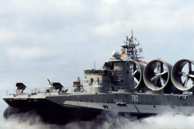 Самые большие корабли российского флота