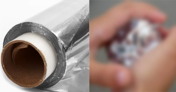 Японец берет 16-метровый рулон алюминиевой фольги и комкает его. Зачем? Получается нечто…