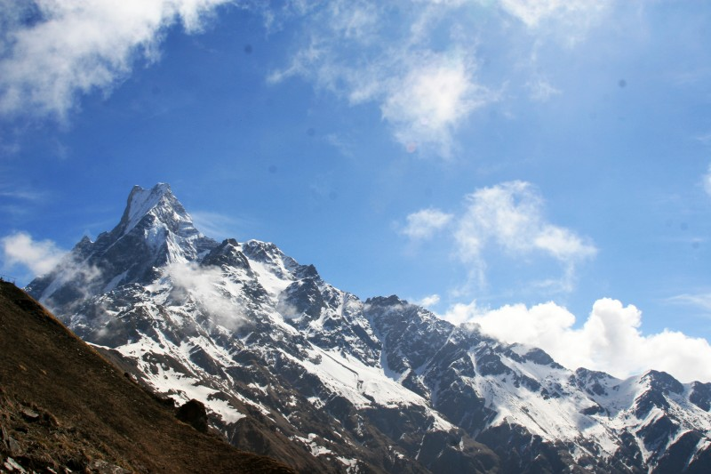 Мачапучаре. Непокорённая гора