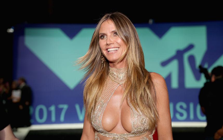 Абсолютно голая топ-модель Хайди Клум свела с ума своих фанатов