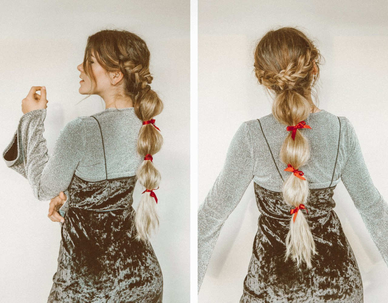 Tutorial: Easy XMAS Hairstyle