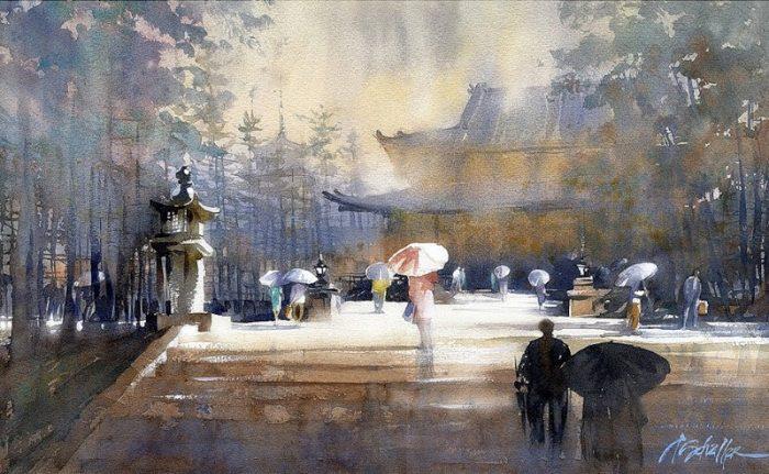 художник Thomas W. Schaller (Ð¢Ð¾Ð¼Ð°Ñ Ð¨Ð°Ð»Ð»ÐµÑ€) картины - 14