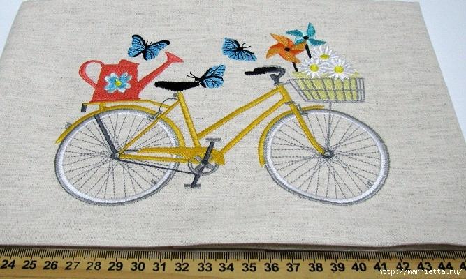 Вышиваем велосипед. Идеи со схемами (33) (667x400, 259Kb)