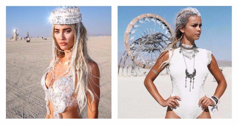 Самые сексуальные девушки фестиваля Burning Man 2017-29 фото-