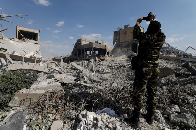 Россия получила от Сирии две ракеты, не сработавшие при ударе США - СМИ