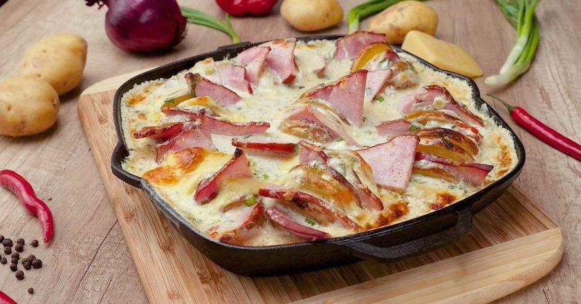 Сырный картофель - вкуснейший ужин