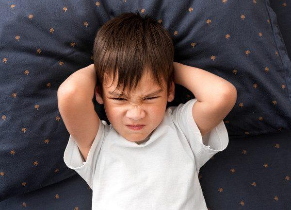Причины бессонницы у детей