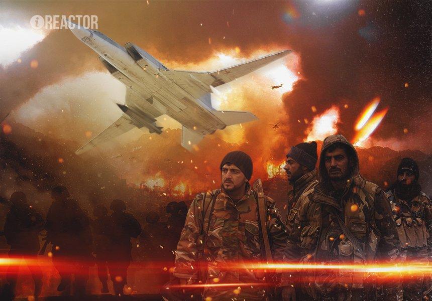 Точечное истребление: ВКС РФ и САА пробивают путь в Хаме прицельным огнем