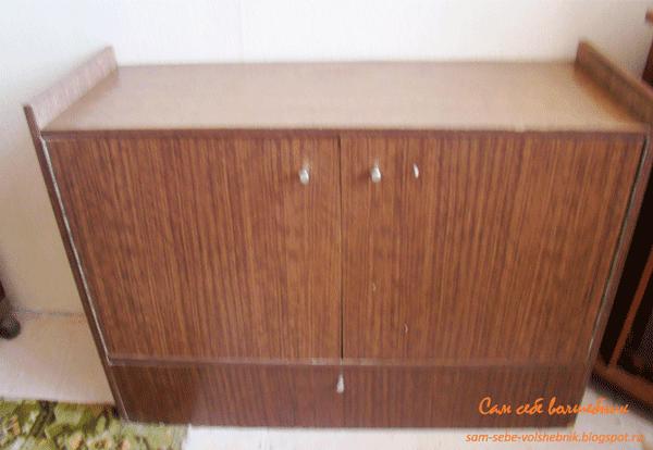 Кухонный стеллаж из картона
