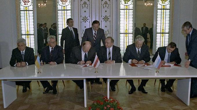 Подписант Беловежских соглашений: Оригинал документа утерян, самостийности он не предусматривал