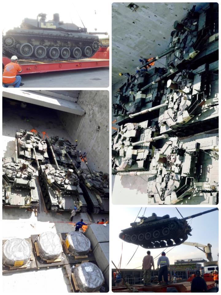 """Таиланд получил очередные пять танков БМ """"Оплот-Т"""""""