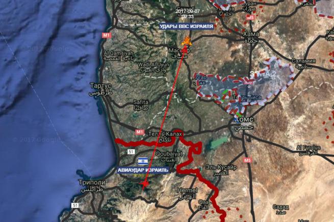 Борзость высшего уровня: Израиль будет атаковать любые сирийские зенитно-ракетные комплексы, которые будут применяться против ВВС еврейского государства.